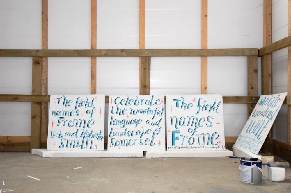 Bob and Roberta Smith. The Bob and Roberta Smith Field Recordings of Frome, 2009